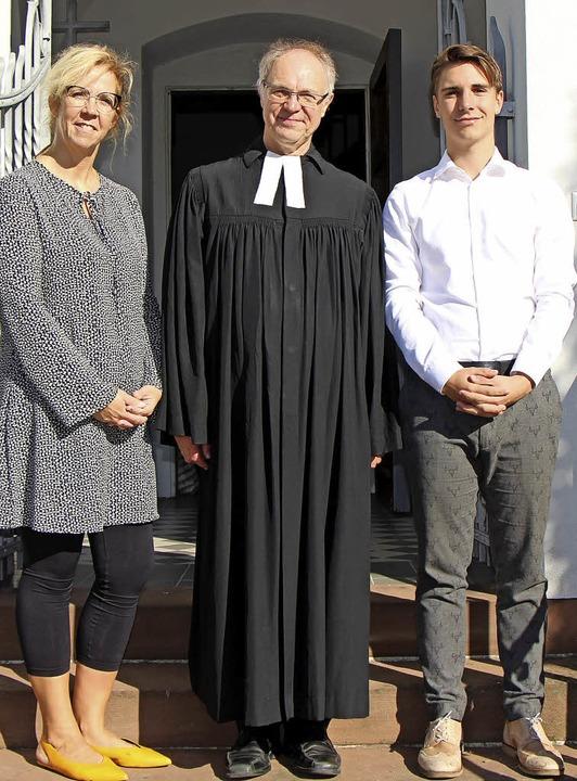 Wechsel im evangelischen Kirchengemein...fl, der neu in den Rat gewählt wurde.   | Foto: Helmut Hassler