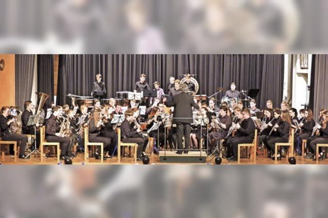 Jugendmusiker begeistern