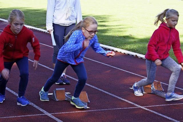 Leichtathleten zeigen ansprechende Leistungen