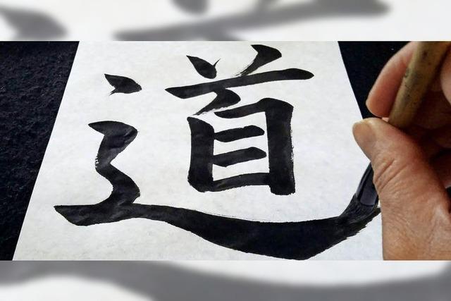 Kalligraphie-Workshop mit Rie Takeda