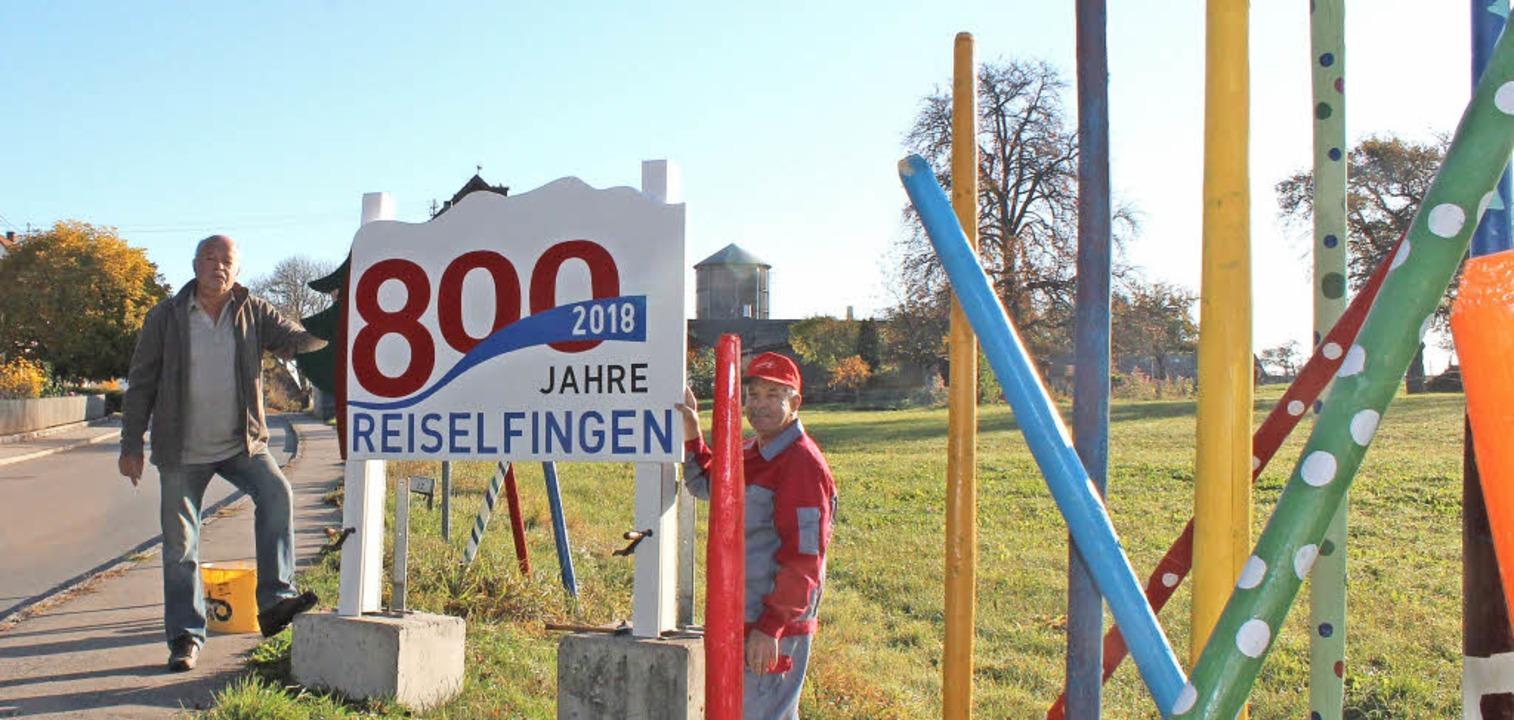 Das Dorfjubiläum nimmt jetzt auch nach...Seppenhofen und Bachheim her begrüßen.    Foto: Christa Maier