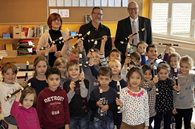 85 Blockflöten für Erstklässler