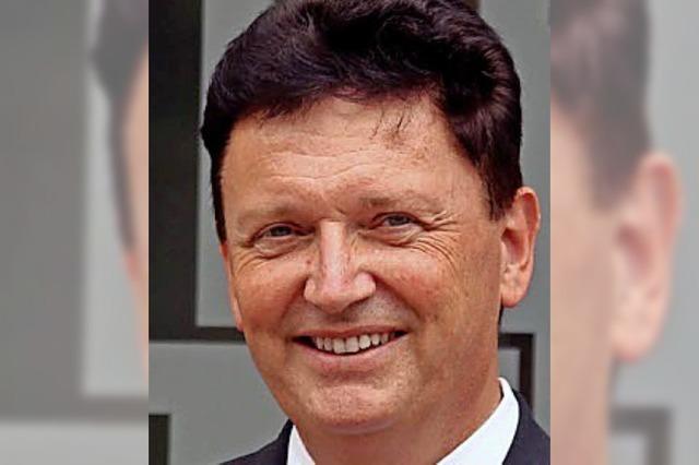 Jetzt Bürgermeister: Beim zweiten Anlauf hatte Richard Weith Erfolg