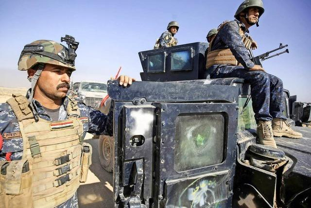 Irakische Armee rückt in Kirkuk ein