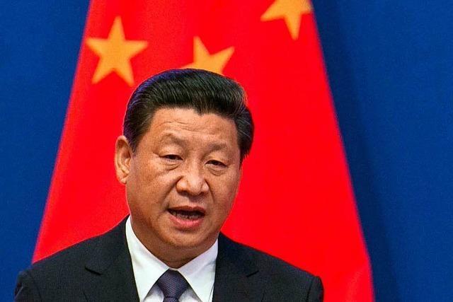Chinas Präsident Xi Jinping baut