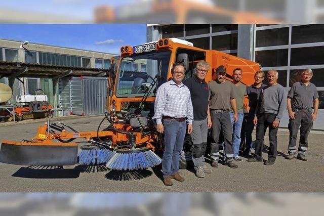 Neuer Geräteträger für den Bauhof in Seelbach