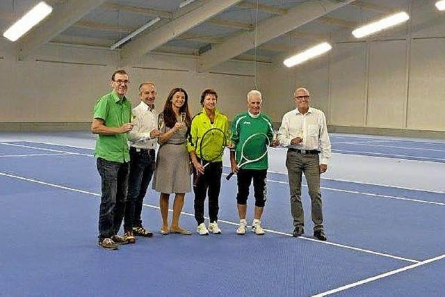 Neue Heimat für die Breisacher Tennisspieler