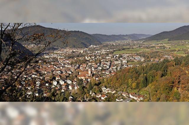 Goldener Herbst auch in Waldkirch