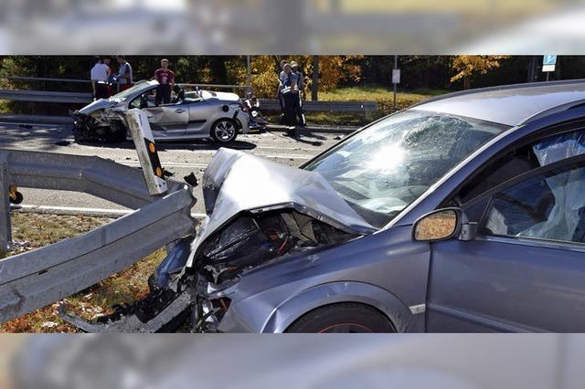 71-jähriger Autofahrer stirbt bei Verkehrsunfall auf der B 315