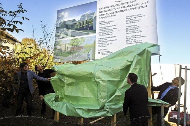 Neubau des Kindergartens liegt im Zeit- und Kostenrahmen