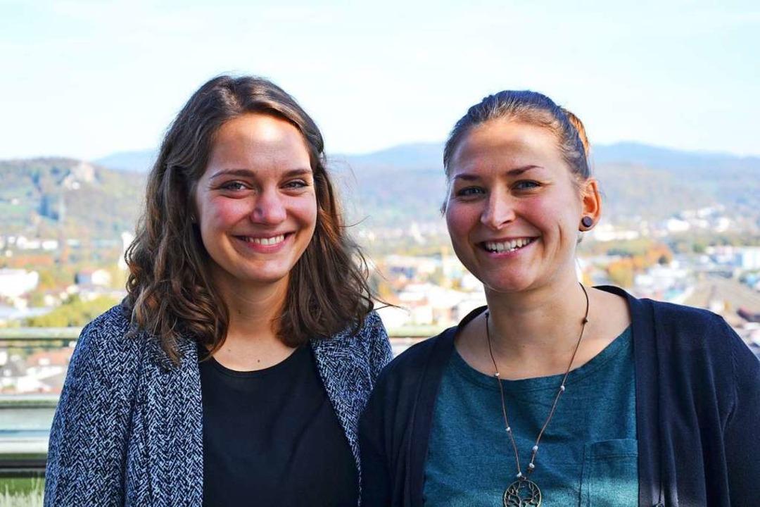 Isabell Gutmann und Katja Ehmer sind d...n Pächterinnen der Burgschenke Rötteln  | Foto: ZVG Stadt Lörrach/Mail von Schackert