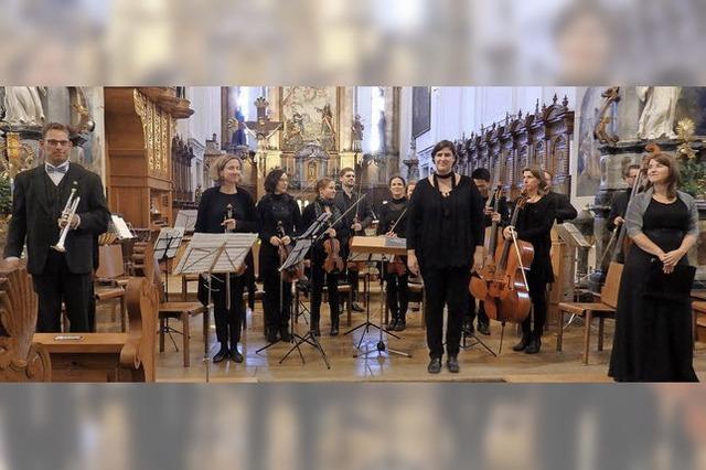 Solisten und Orchester waren eine vollkommene Einheit