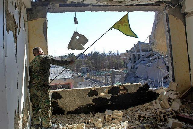 Kurden vertreiben IS-Kämpfer aus Rakka
