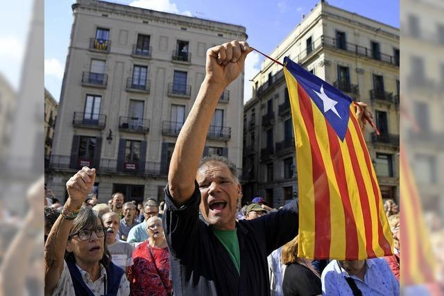 Zwei katalanische Aktivisten verhaftet