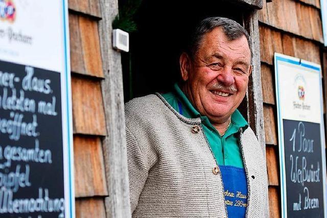 Hüttenwirt auf der Zugspitze hört nach 35 Jahren auf
