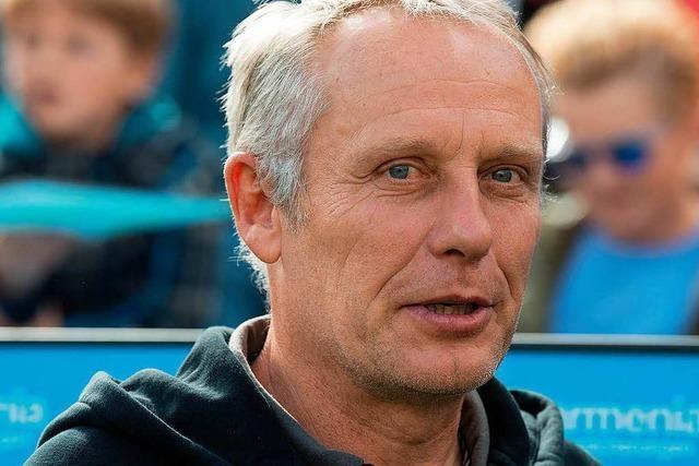SC-Trainer Christian Streich ist