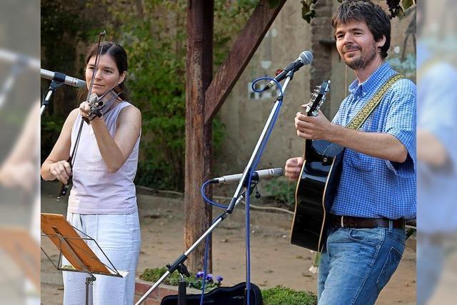 Duo Reel Time gastiert am Freitag in der Schlosserei in Wehr.