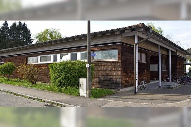 Das Kindergartengebäude wird der Schule zugeordnet