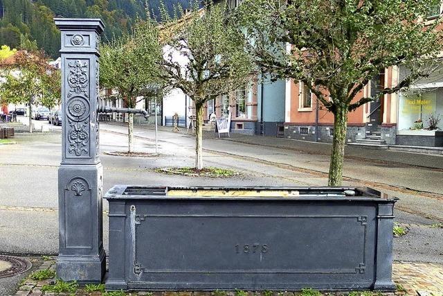 Böller war zu viel für Brunnen