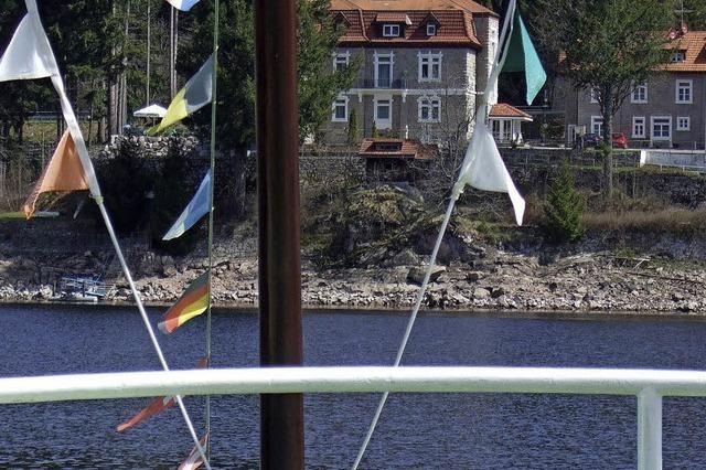 Streit um die Anlegestelle Seebrugg