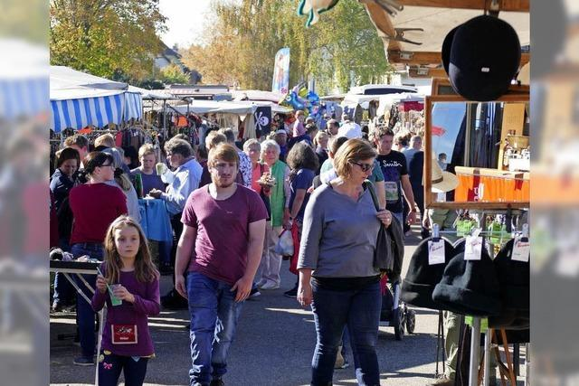 Chilbi-Markt zieht wahre Besuchermassen an