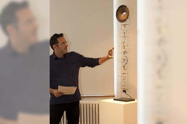 Peter Vogel aus Freiburg erhält am Sonntag den Oberrheinischen Kunstpreis in Offenburg
