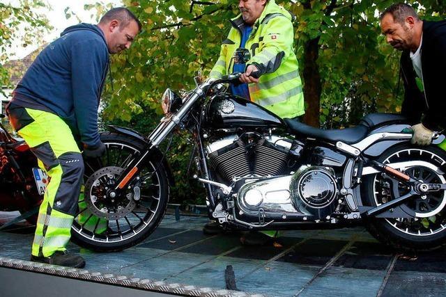 Polizei durchsucht 50 Objekte der Hells Angels