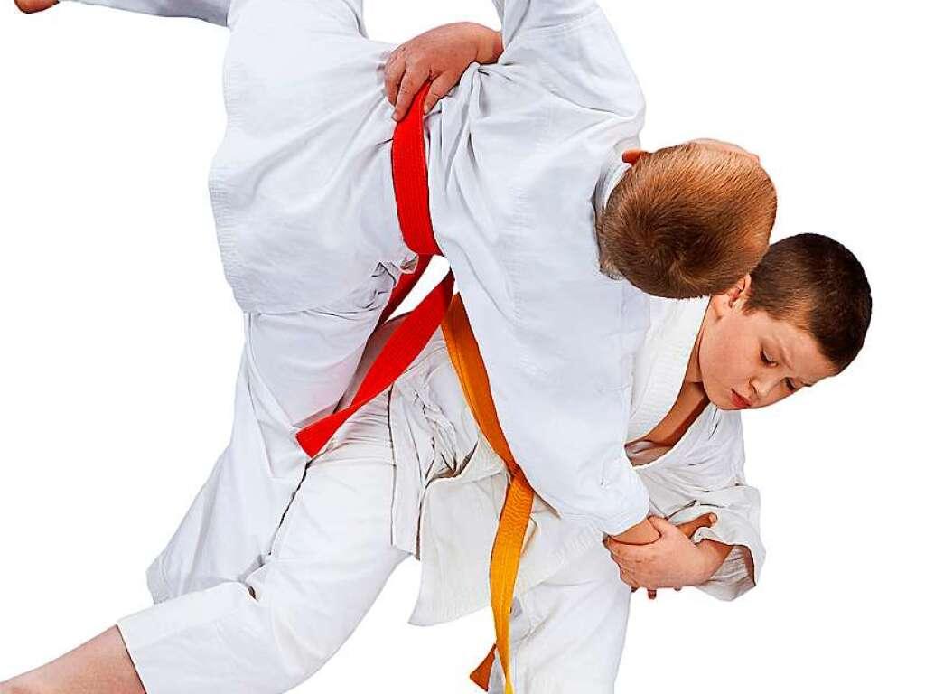 judo f rdert koordination und konzentration von kindern. Black Bedroom Furniture Sets. Home Design Ideas