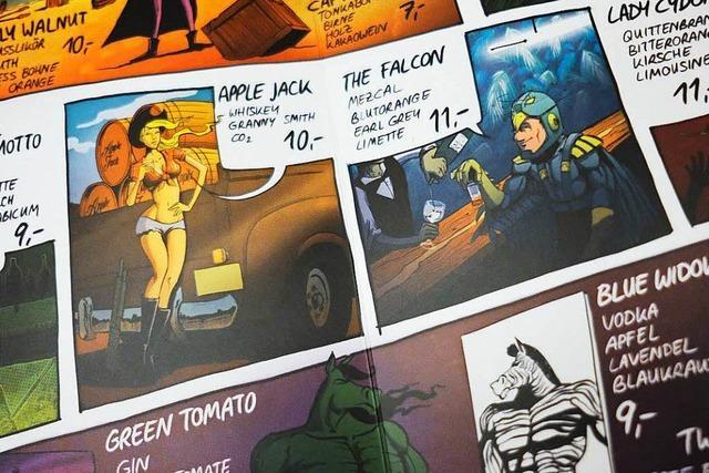 Barkarte des Jahres: Die Comic-Cocktail-Superhelden aus dem One Trick Pony