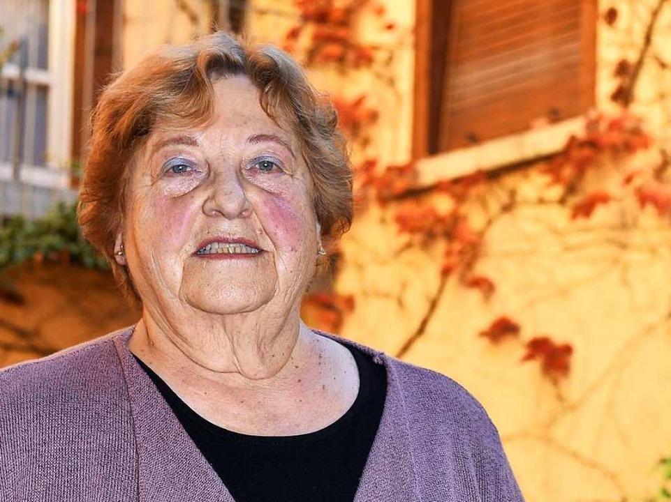 """Monika Hansen führte 52 Jahre lang  Regie im """"Roten Bären"""".    Foto: Thomas Kunz"""