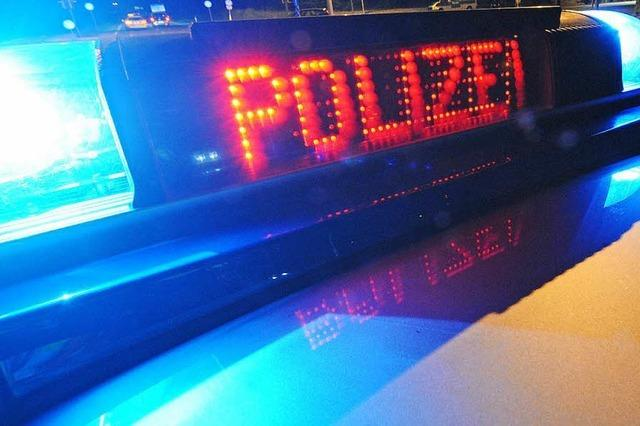 Nach der Blutentnahme betrank sich ein Fahrradfahrer in Lörrach – und schlief in einer Bank