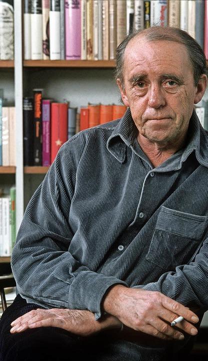 Liebte die Kargheit aus Staub und Trümmern: Böll 1977    Foto: dpa-tmn