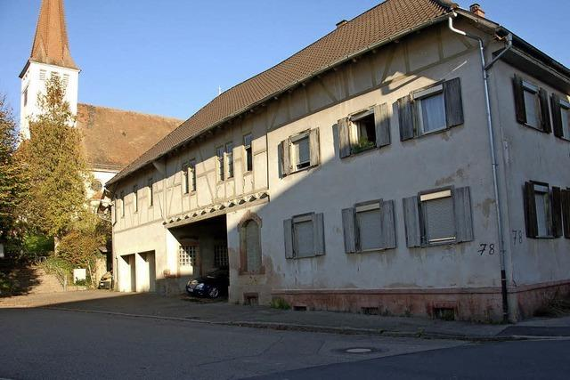 Das ehemalige Gasthaus Lamm ist dem Verfall nahe