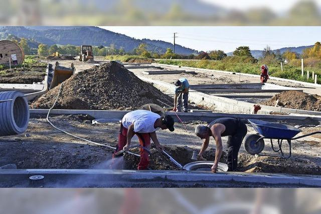 Welche private Bauherren kommen im Kirchzartener Neubaugebiet zum Zug?