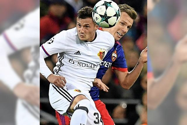 Reife Leistung des FC Basel gegen ZSKA Moskau