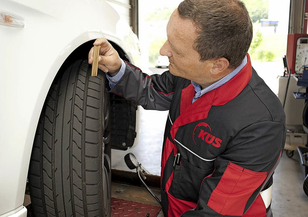 Nicht selten sind die Reifen bei Gebra...icherheitsschwachpunkt | Foto © K&lt;S  | Foto: K<S