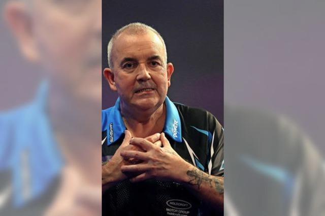 Dart-Legende tritt kurz vor Karriereende in Deutschland an