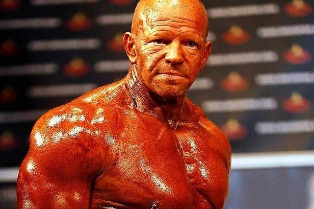 Der Lörracher Carsten Kluge ist Wettkampf-Bodybuilder