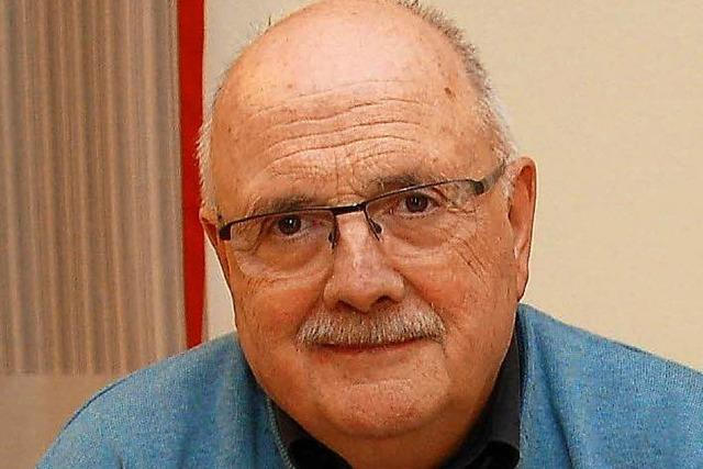 Walter Caroli erhält den ersten Lahrer Christian-Wilhem-Jamm-Preis