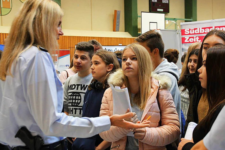 Impressionen von der Jobstartbörse in Endingen (Foto: Christiane Franz)