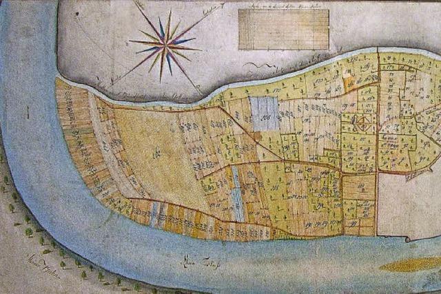 Bad Säckingen verleiht historische Landkarten
