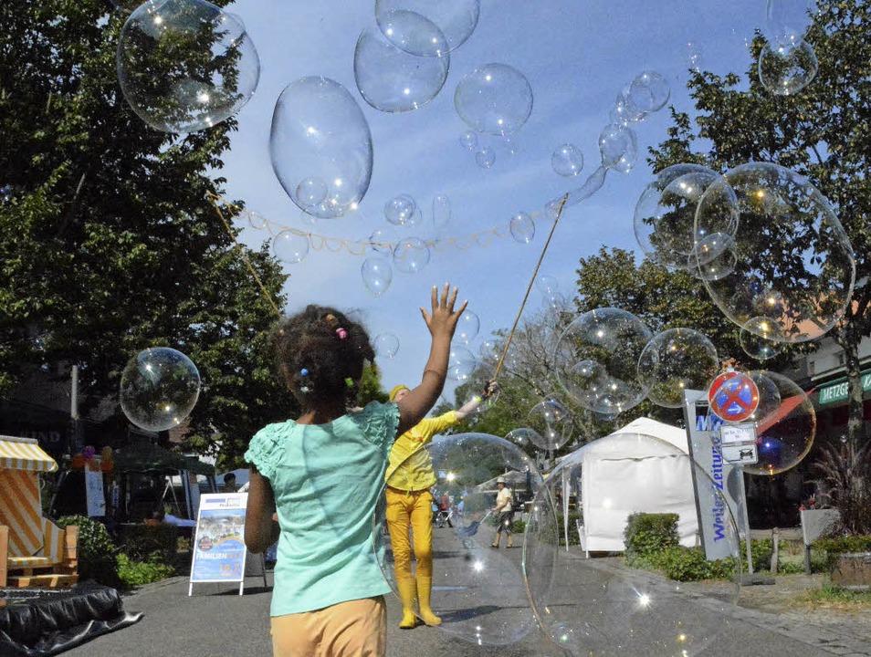 Ohne neuen Hauptsponsor könnte der Kindertag platzen.     Foto: Lauber