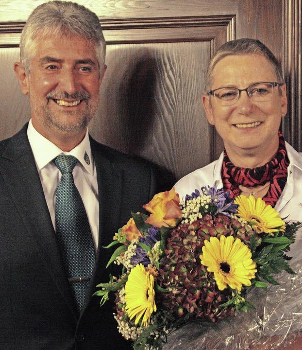 Seit 21 Jahren ist Margarete Schulze V...rennadel des Landes Baden-Württemberg.    Foto: Jörn Kerckhoff