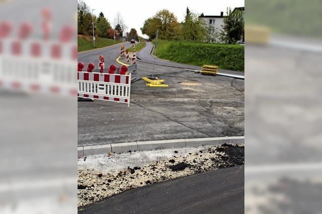 Umbau Basler Straße neigt sich dem Ende zu