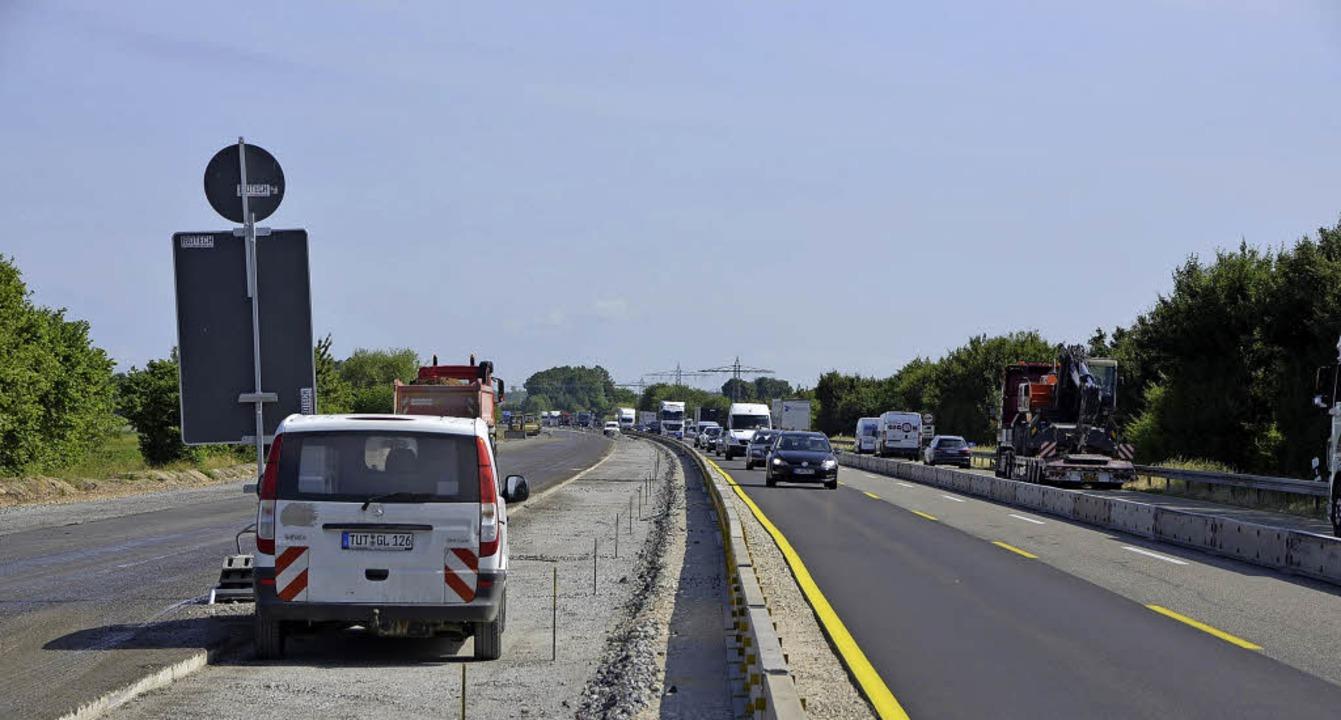 Seit Monaten wird die  A5 zwischen Off... Ausbau handelt es sich (noch) nicht.   | Foto: Archivfoto: Röderer