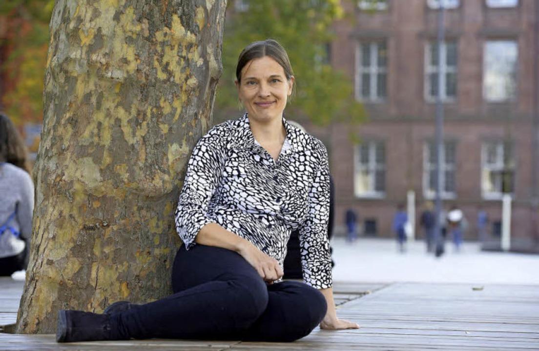 Yvonne Albrecht will im März wieder   aufbrechen.   | Foto: I. Schneider