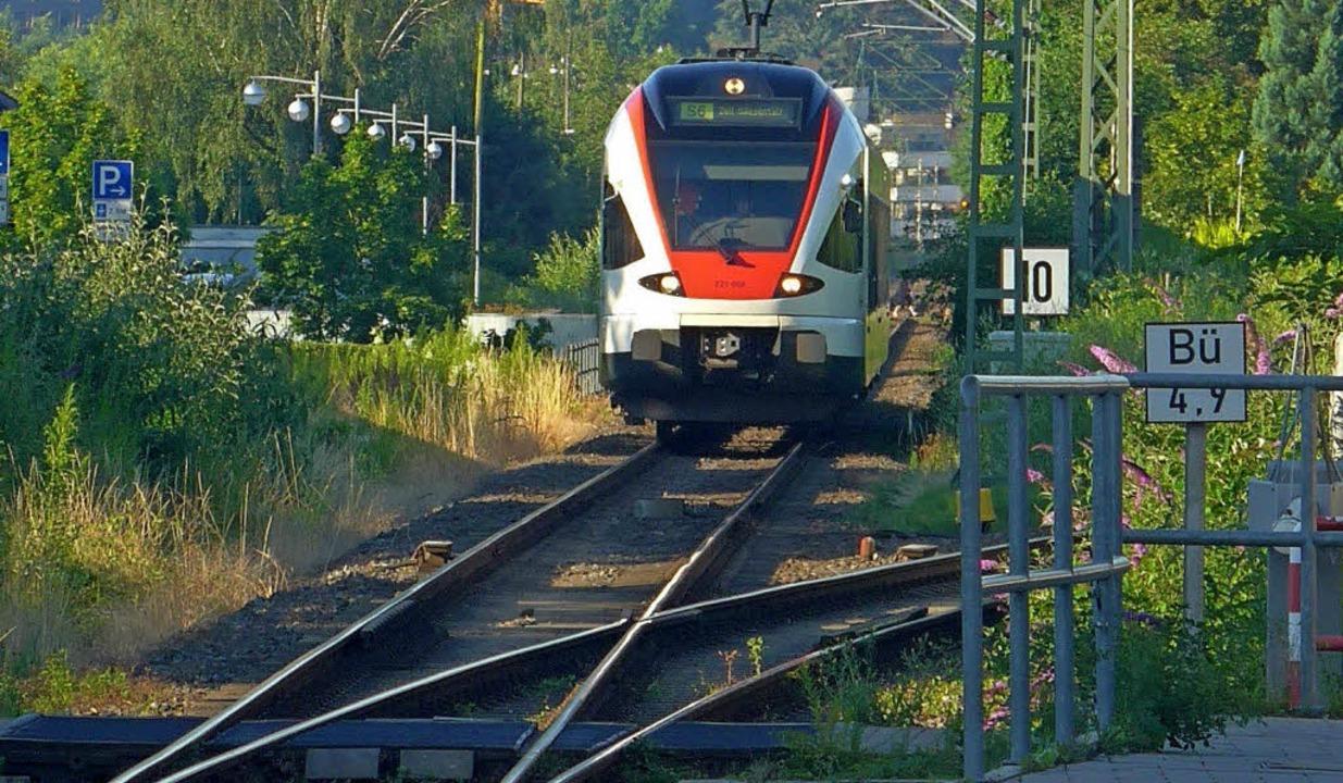 Ohne Ausweichstellen sind neue S-Bahn-Stationen kaum möglich.     Foto: Daniel Gramespacher