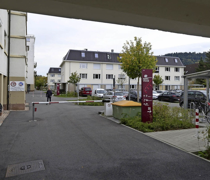 Das Studentenwohnheim an der Händelstr... der Gestaltungsbeirat gar nicht gut.   | Foto: Ingo Schneider