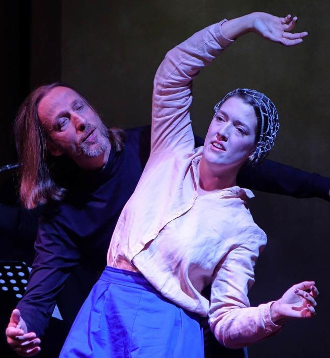 Mezzosopranistin Laura Binggeli und Countertenor Kai Wessel   | Foto: Roswitha Frey