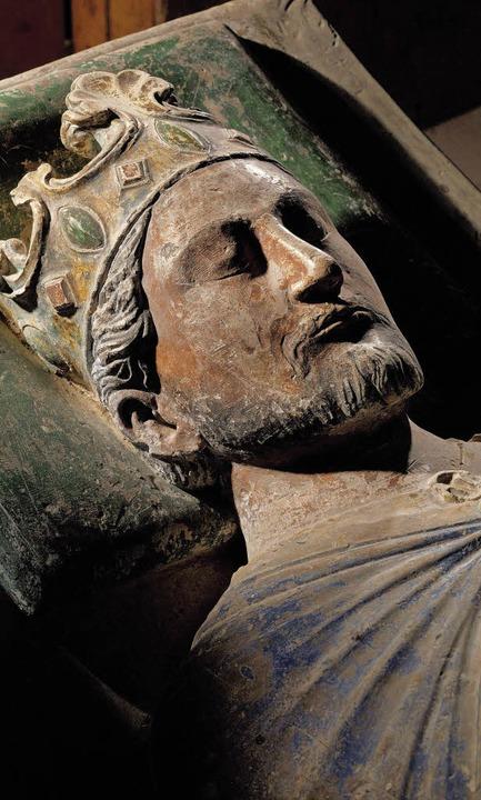 Grabfigur Richard Löwenherz in  Fontevraud     Foto: Lessing/akg-images
